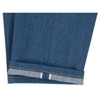 Easy Guy -  Island Blue Stretch Selvedge - hem