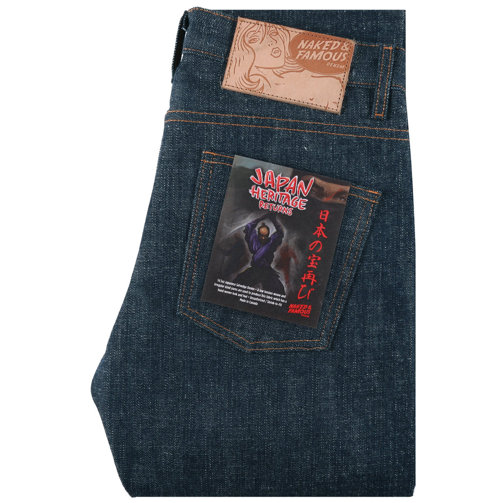 Japan Heritage Returns Unsanforized Denim by Naked & Famous Denim