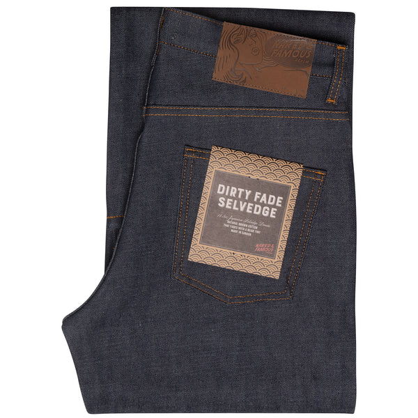Strong Guy - Dirty Fade Selvedge | Naked & Famous Denim