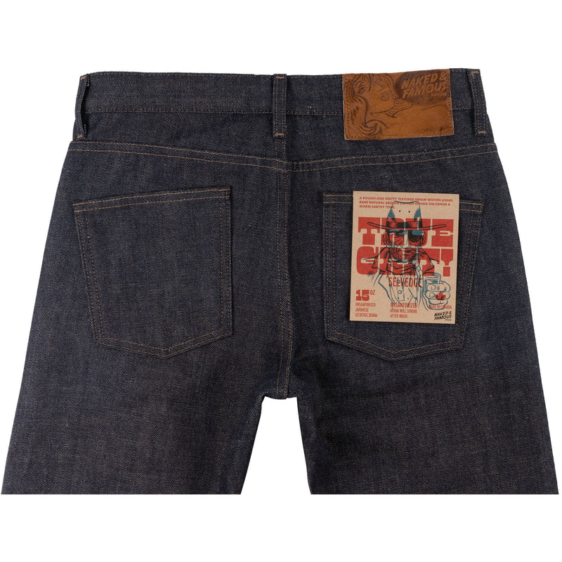 Super Guy - True Grit Selvedge - back