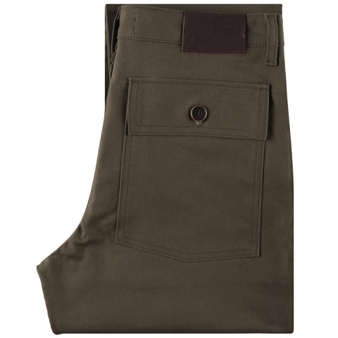 Work Pant - Green Canvas - main