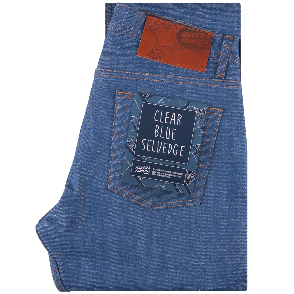 Weird Guy - Clear Blue Selvedge | Naked & Famous Denim