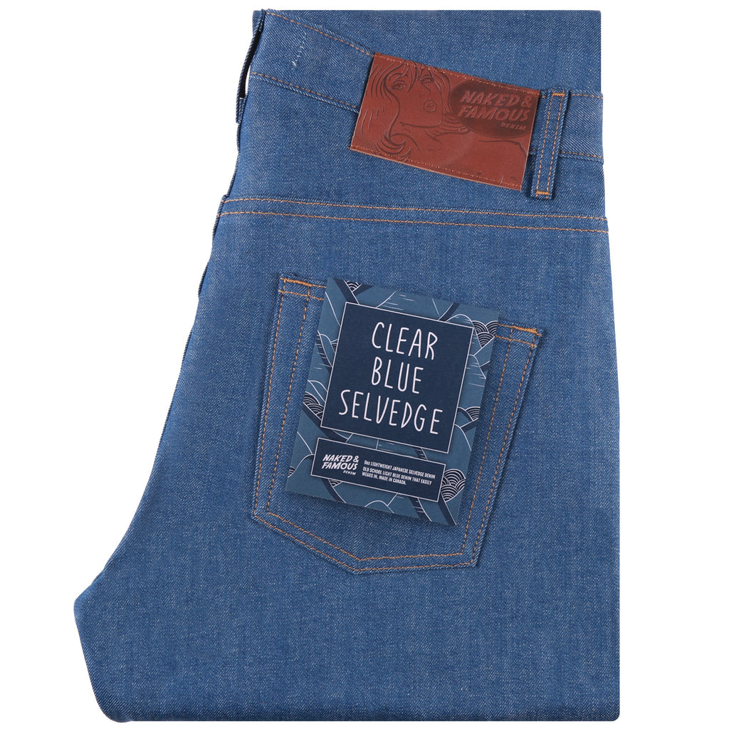 Easy Guy - Clear Blue Selvedge | Naked & Famous Denim