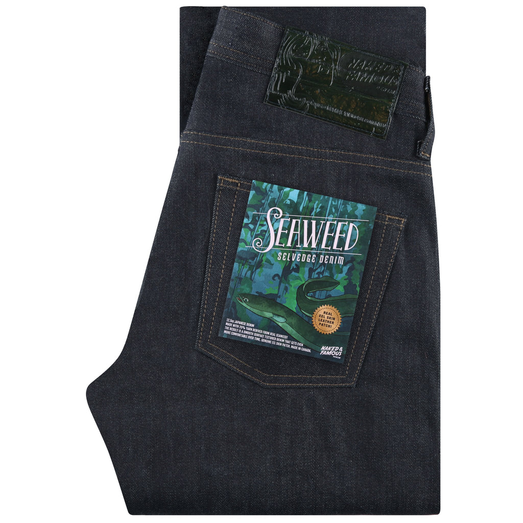 Weird Guy - Seaweed Selvedge | Naked & Famous Denim