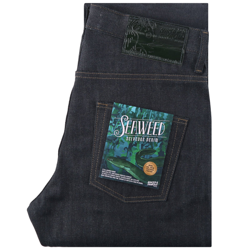 Easy Guy - Seaweed Selvedge | Naked & Famous Denim