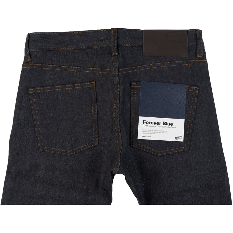 Super Guy - Forever Blue Stretch Selvedge - back