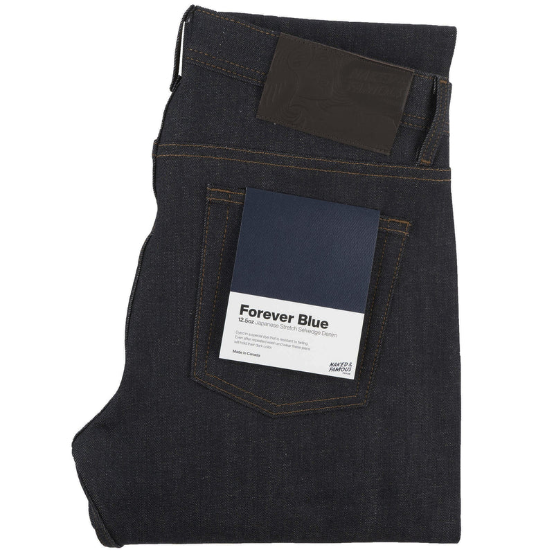 Weird Guy - Forever Blue Stretch Selvedge - main