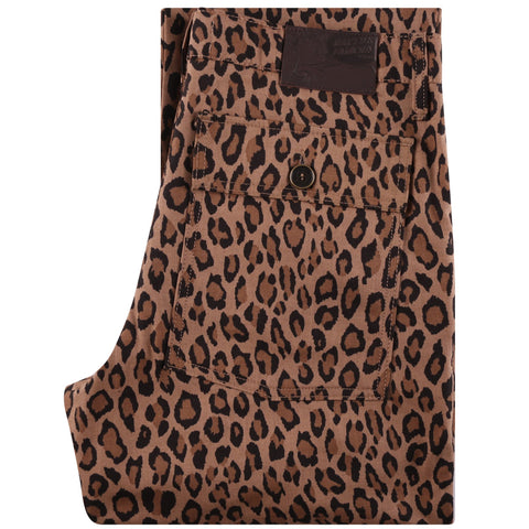 Work Pant - Leopard Print with Tiger Camo Interior - main
