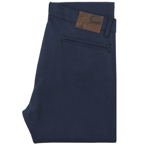 Slim Chino - Stretch Sashiko