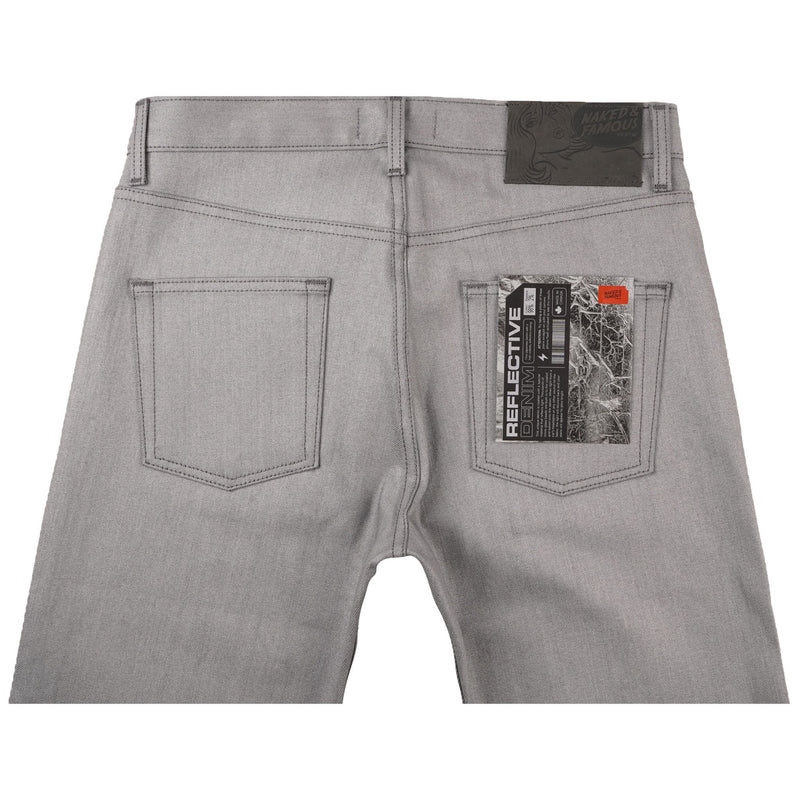 Easy Guy - Reflective Denim - bacl