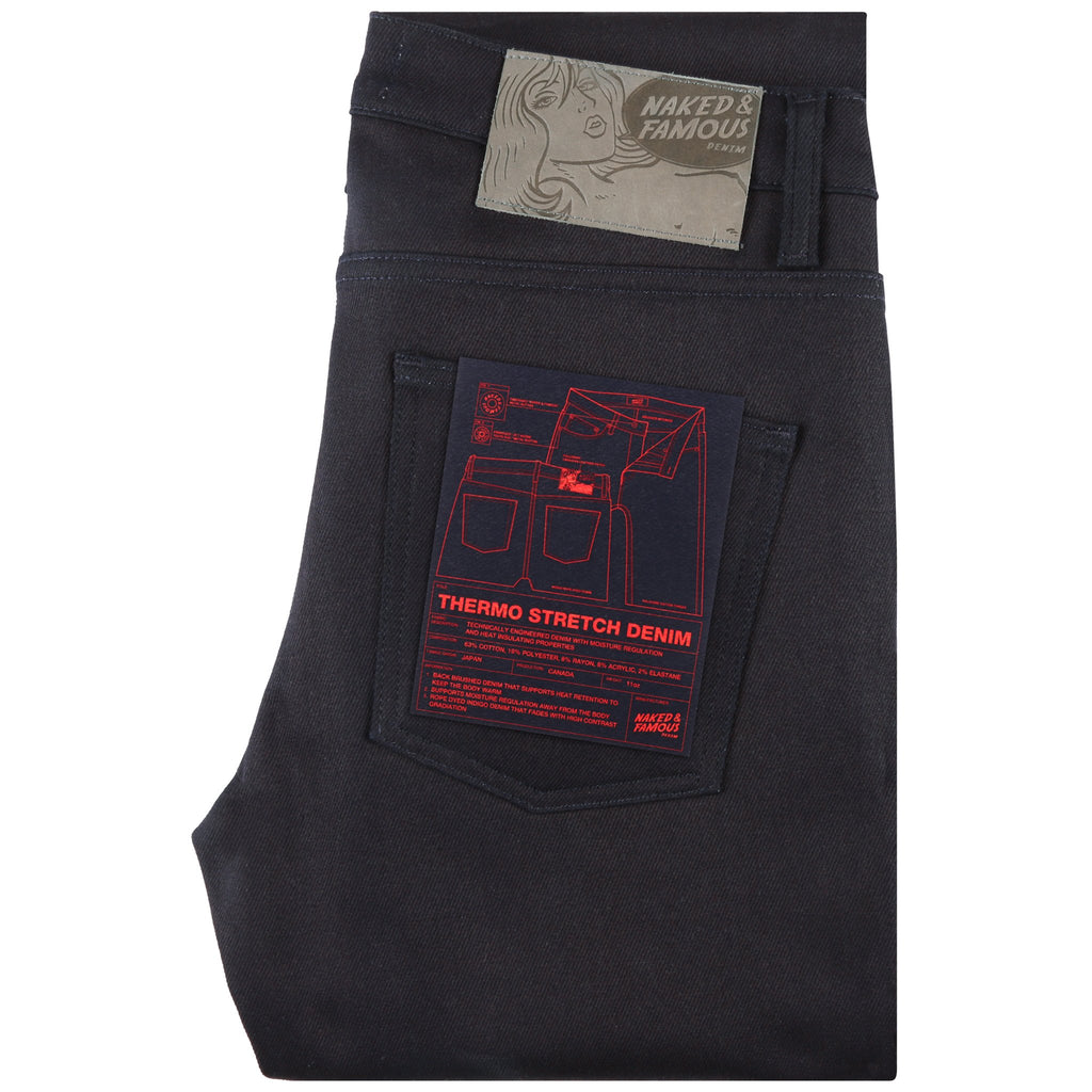 Super Guy - Thermo Stretch Denim by Naked & Famous Denim