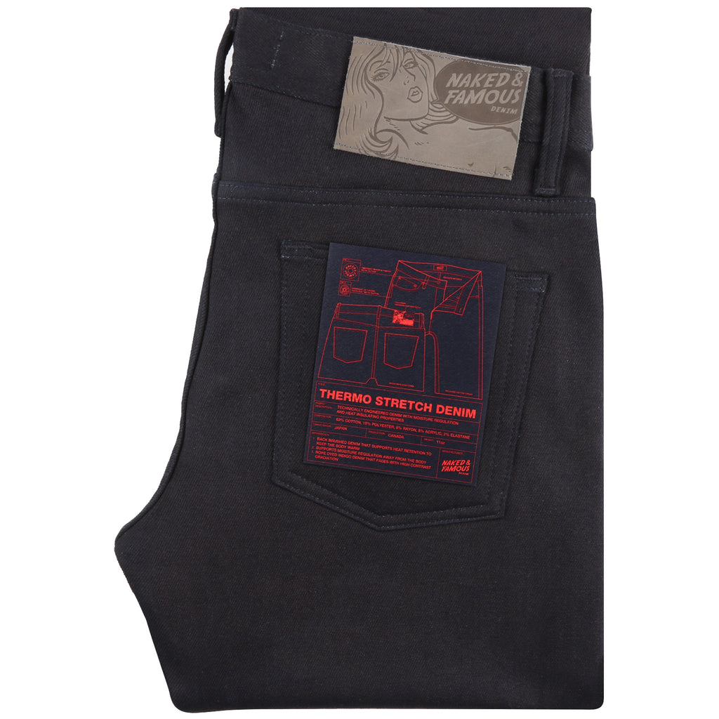 Weird Guy - Thermo Stretch Denim by Naked & Famous Denim