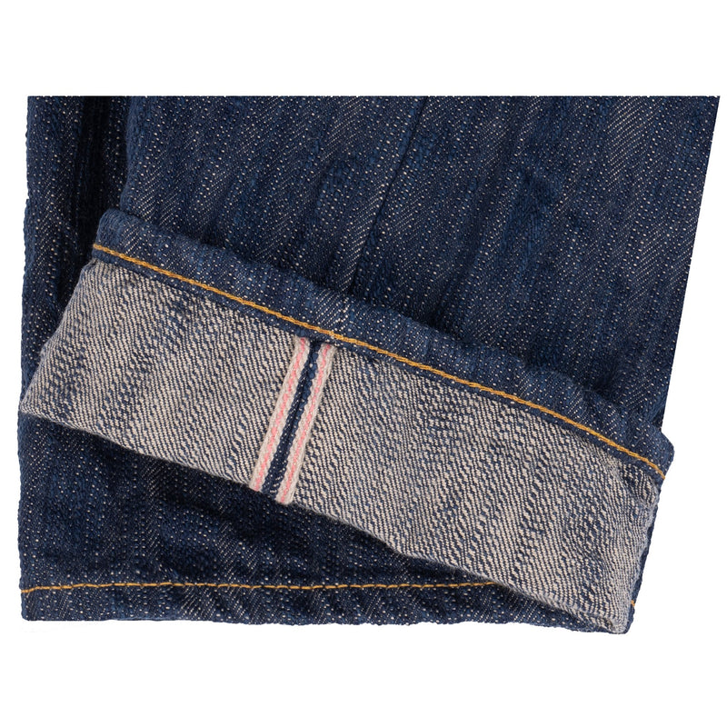 Weird Guy - MIJ8 - Tokushima Natural Indigo Hand Dyed Intangible Cultural Treasure Selvedge Denim
