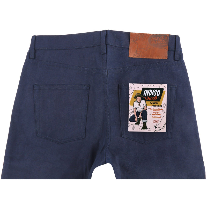 Easy Guy - Indigo Duck Canvas Selvedge | Naked & Famous Denim