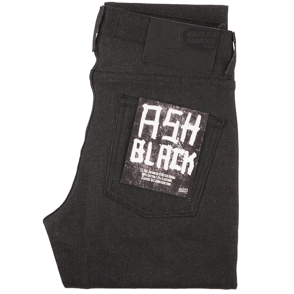 Super Guy - Ash Black Stretch Denim - main