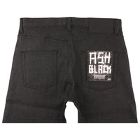 Easy Guy - Ash Black Stretch Denim - back