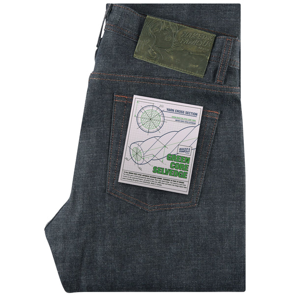 Weird Guy - Green Core Selvedge | Naked & Famous Denim