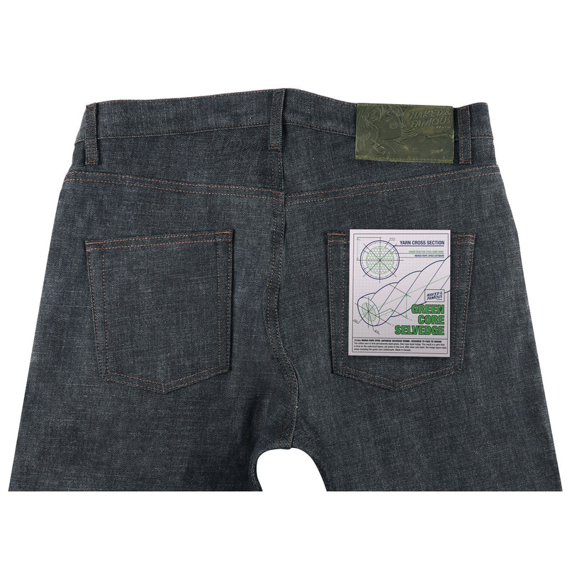 Easy Guy - Green Core Selvedge | Naked & Famous Denim