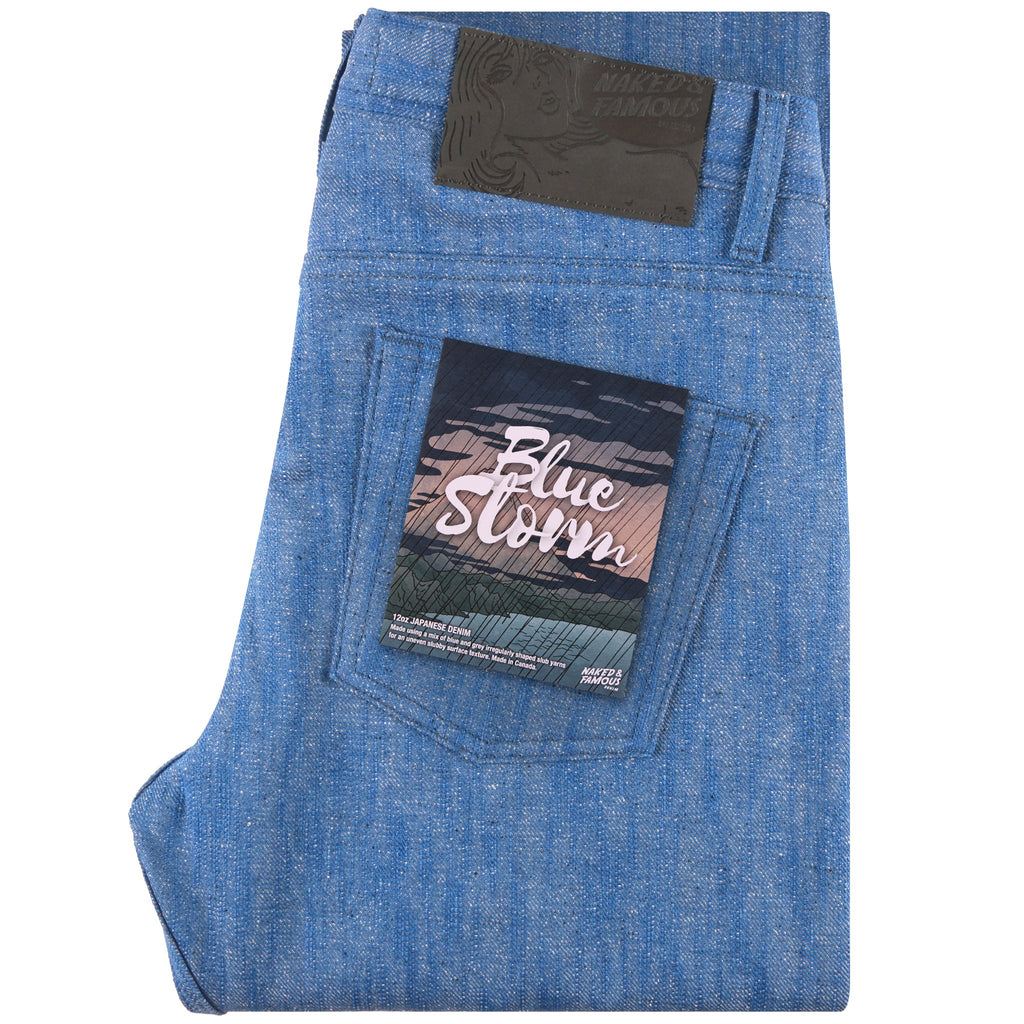 Weird Guy - Blue Storm Slub | Naked & Famous Denim