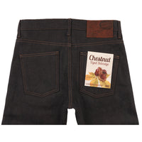 Super Guy - Chestnut Dyed Selvedge - back