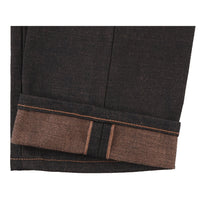 Super Guy - Chestnut Dyed Selvedge - hem