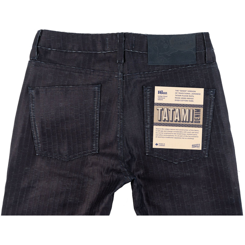 Super Guy - Tatami Denim - back