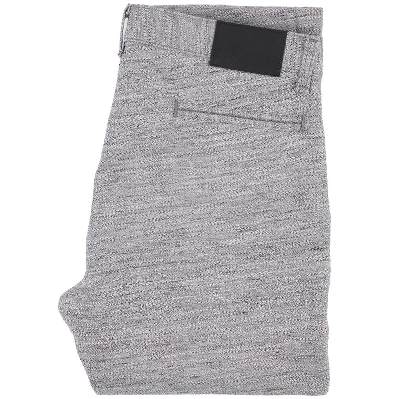 Slim Chino - Grey Melange - Folded