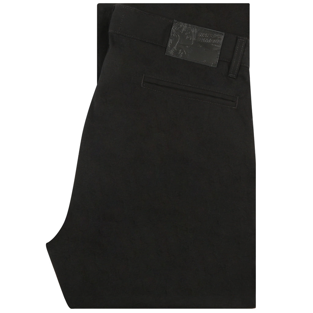 Straight Chino - Black Rinsed Oxford | Naked & Famous Denim