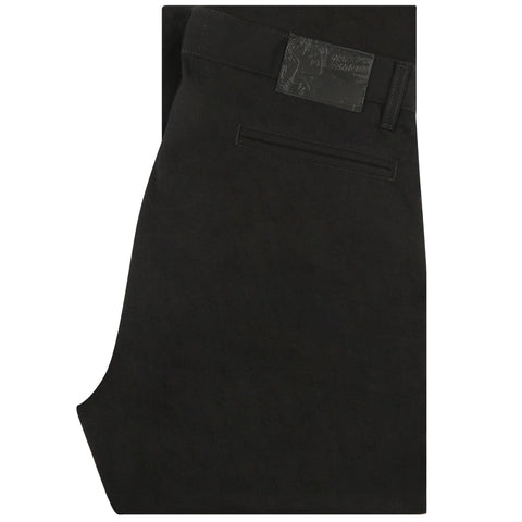 Straight Chino - Black Rinsed Oxford