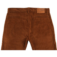 Tapered Chino - Heavy Velvet Twill - Brown