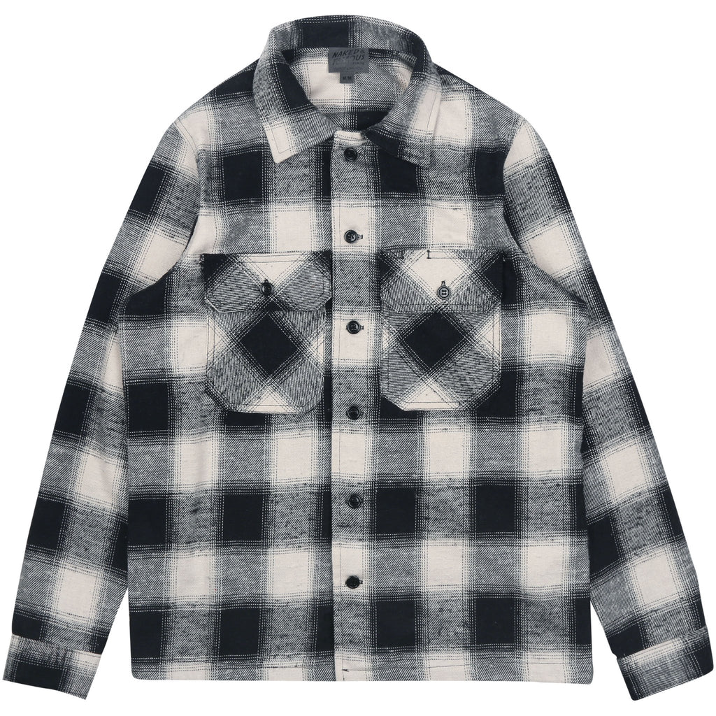 Work Shirt - Nep Buffalo Check White/Black