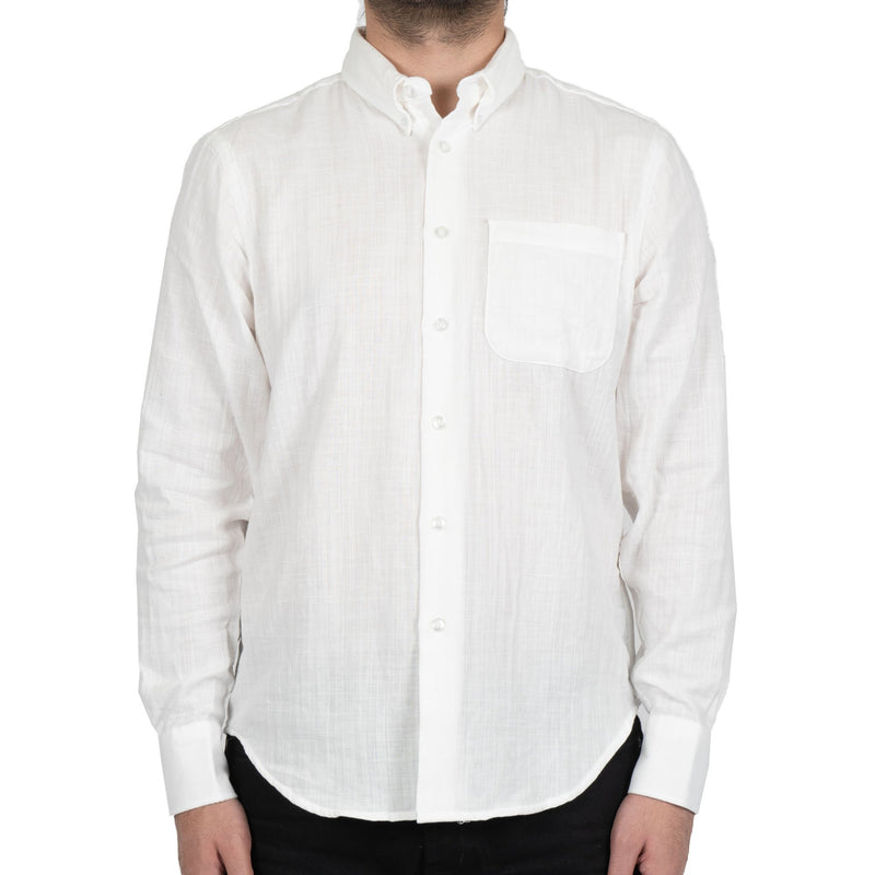 Easy Shirt - Double Weave Gauze - White
