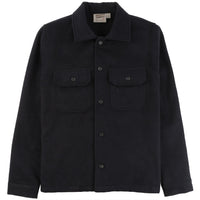 Work Shirt - Cotton Melton - Black - front