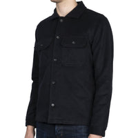 Work Shirt - Cotton Melton - Black - side