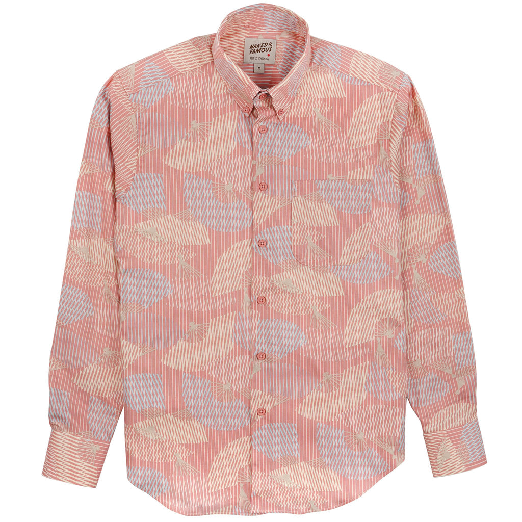 Easy Shirt - Japanese Sensu - Pink