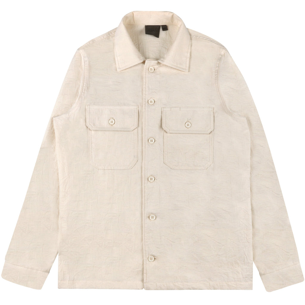 Work Shirt - Bone Rinsed Oxford