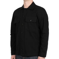 Work Shirt - Black Rinsed Oxford