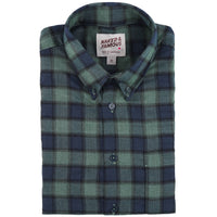 Easy Shirt - Herringbone Plaid - Green - main