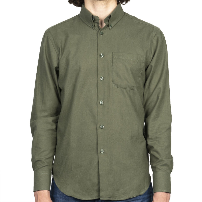Easy Shirt - Soft Twill - Green - front
