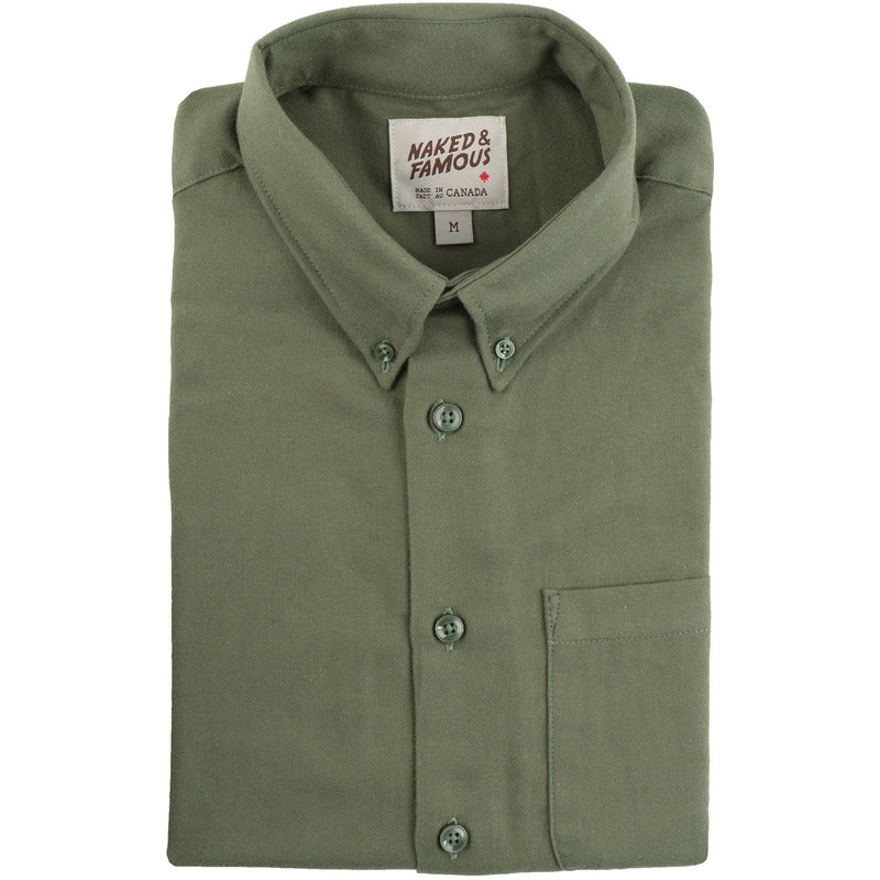 Easy Shirt - Soft Twill - Green - main