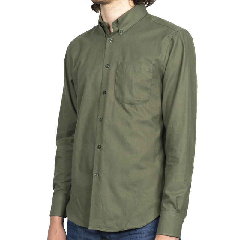 Easy Shirt - Soft Twill - Green - side