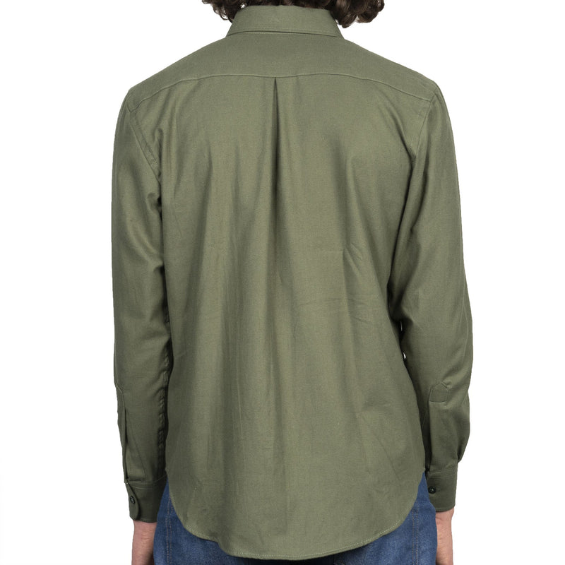 Easy Shirt - Soft Twill - Green - back