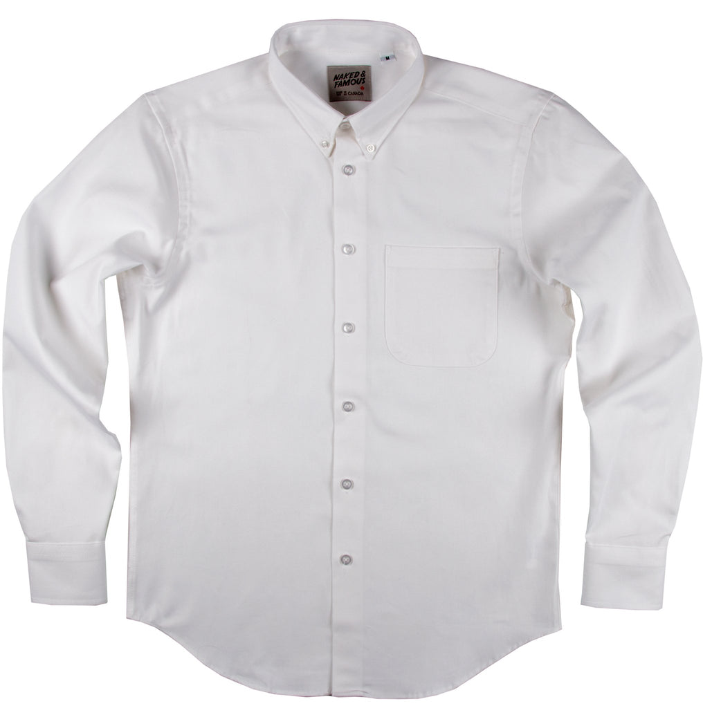 Regular Shirt - White Oxford
