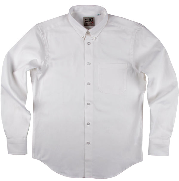 Regular Shirt - White Oxford Media 1 of 2