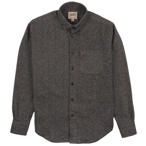 Easy Shirt - Cotton Tweed - Charcoal