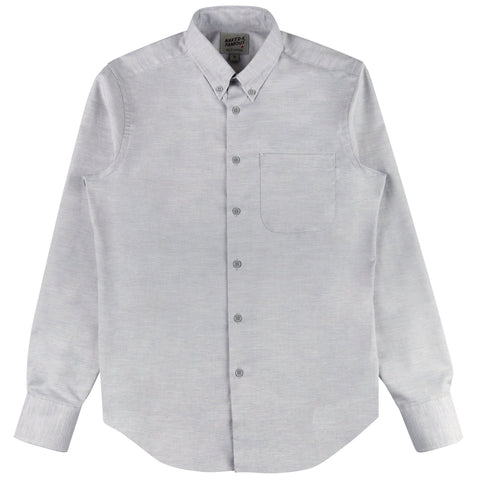 Regular Shirt - Flower Dyed Oxford Black Mallow | Naked & Famous Denim
