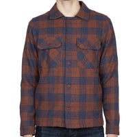 Work Shirt - Triple Twist Yarn Vintage Flannel - Rust - front