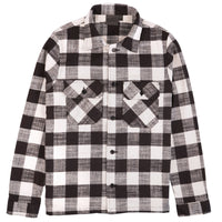 Work Shirt - Slubby Buffalo Check - White