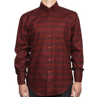 Easy Shirt - Zig Zag - Red - front