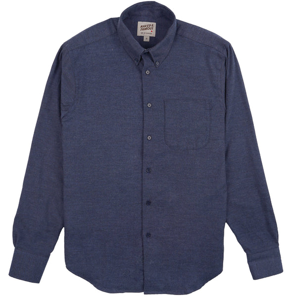 Easy Shirt - Classic Flannel - Blue